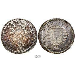 Brazil (Rio mint), 960 reis, Joao VI, 1820-R.