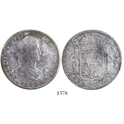 Mexico City, Mexico, bust 8 reales, Ferdinand VII, 1812JJ.