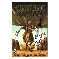 Cowboys & Aliens Graphic Novel Signed by Scott Mitchell Rosenberg