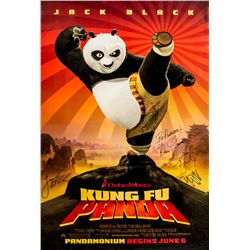 Autographed Kung Fu Panda One-Sheet Poster