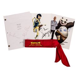Original Kung Fu Panda Script Signed by the Writers