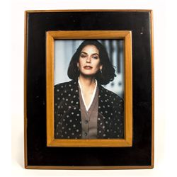 Framed Photo of Teri Hatcher used in Lois and Clark