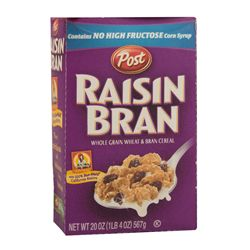 Raisin Bran Cereal Box from Silver Linings Playbook