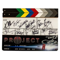 Complete Cast Signed Clapper Board from Star Trek Into Darkness