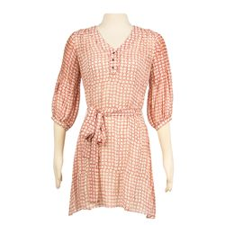 Hero Red Print Dress and Shoes worn by Rachel McAdams in The Vow