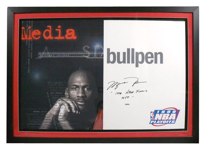 best website 8004f a095a Image 1   Sports, basketball, NBA memorabilia, Michael Jordan autographed    inscribed media