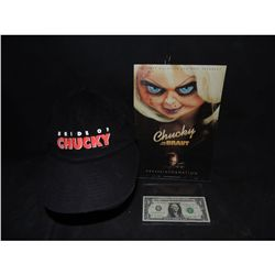 BRIDE OF CHUCKY CAST & CREW HAT WITH PREMIERE PROGRAM