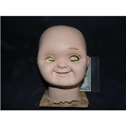 CURSE OF CHUCKY GOOD GUY DOLL SILICONE HEAD SKIN ONLY ONE EVER TO BE OFFERED!