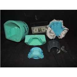 FANTASTIC 4 DR DOOM HAND AND CHIN MOLDS