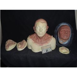 300 RISE OF AN EMPIRE EPHIALTES COMPLETE SET OF APPLIANCES ON LIFE CAST