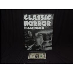 FAMOUS MONSTERS CLASSIC HORROR COFFEE TABLE FILM BOOK
