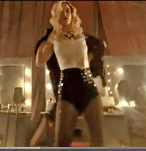 Britney Spears Ringleader Costume On Set Photos Research Material From Her Circus Video