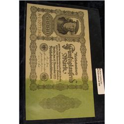 998.       Germany 1922 50,000 Mark (large) banknote
