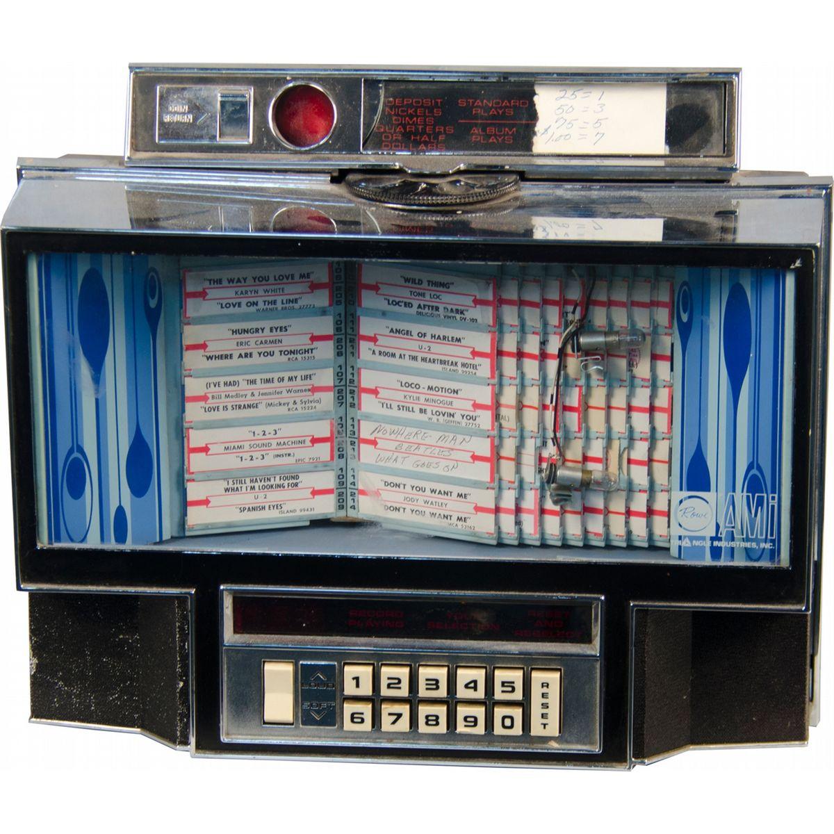Coin-Op Rowe AMI Remote Jukebox Wall Box
