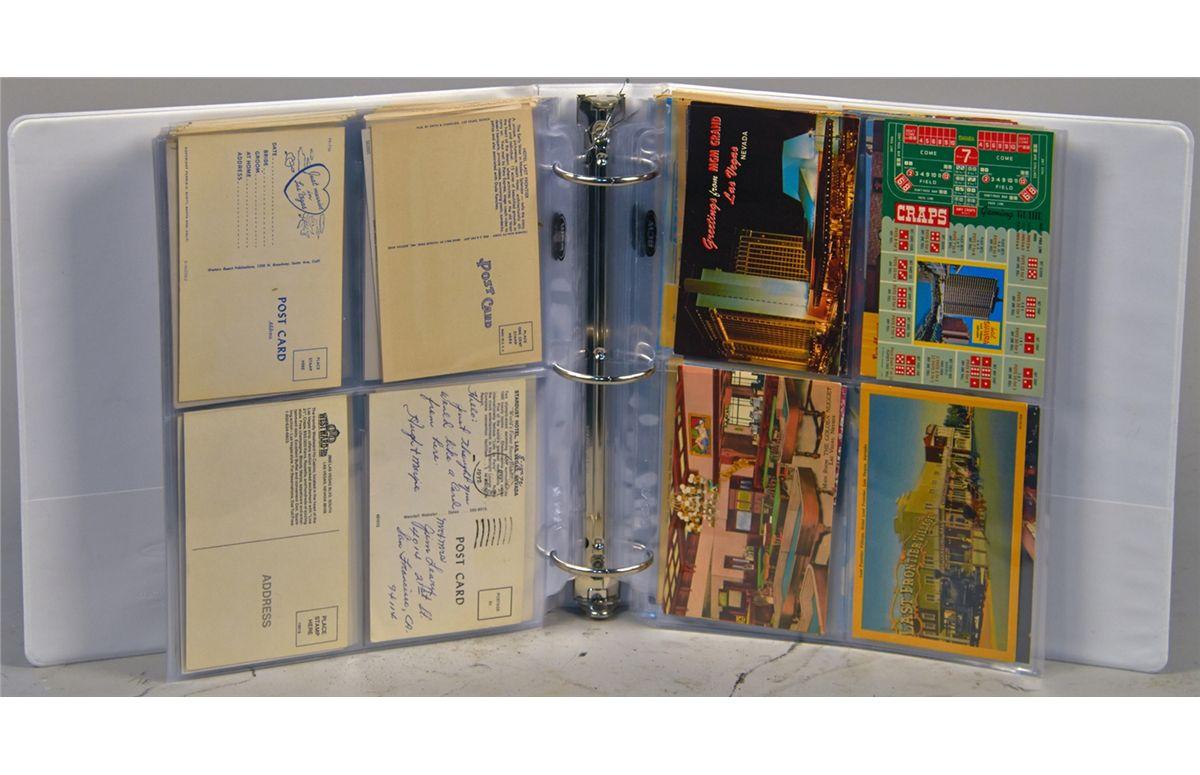 Lot of 4 Vintage Postcards of Las Vegas Lot 800