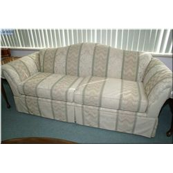 Wingback chair and matching full sized sofa