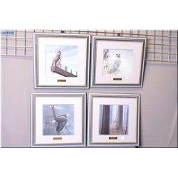 Four framed Robert Bateman prints