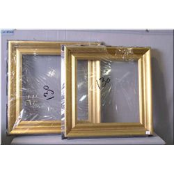 Two new quality picture frames each 16 7/8  square