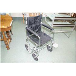 A Go-Kart folding wheel chair