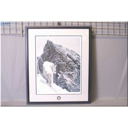 "A framed limited edition print ""Hard Places"" 572/1000 pencil signed and numbered by artist Wilf Schl"