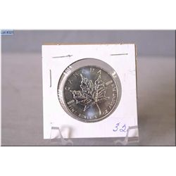 Canadian sterling silver 5 dollar coin