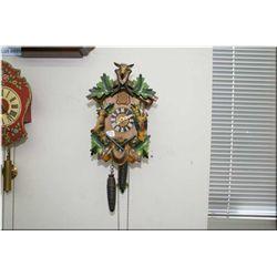 A German made hunting motif cuckoo clock
