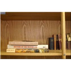 A selection of vintage and collectible books including Dr. Jekyll and Mr. Hyde, volumes of books by