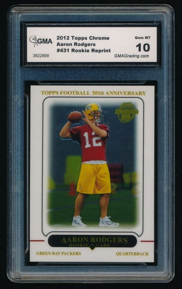 2012 Topps Chrome Rookie Reprint 431 Aaron Rodgers 2005