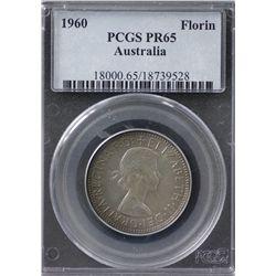 1960 Proof Florin PCGS PR65