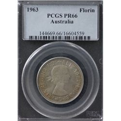 1963 Proof Florin PCGS PR66