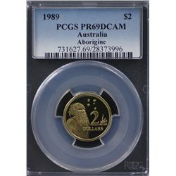 1989 Proof Set 5c to $2 PR69 DCAM
