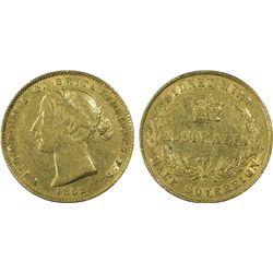 1862 half Sovereign PCGS XF45