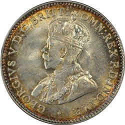 1921M Threepence PCGS MS64 Plus