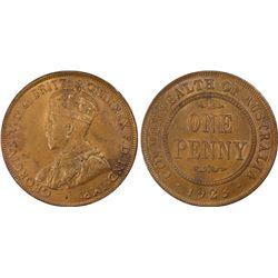 1923(m) Penny PCGS MS63BN