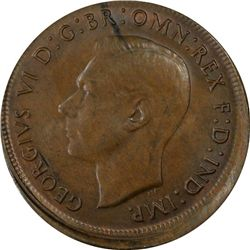 1945 Penny MS62 Brown