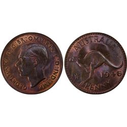 1946(m) Penny PCGS MS64BN