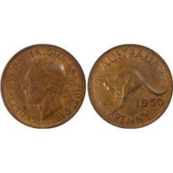 1950(p) Penny PCGS MS64BN