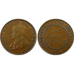 1923 ½ Penny PCGS XF45