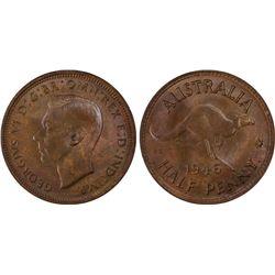 1946(p) ½ Penny PCGS MS64BN