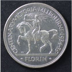 1934/35 Florin Uncirculated, prooflike