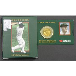 Five Dollar Proof & Uncirculated Donald Bradman