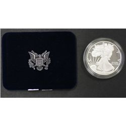 USA Silver Eagle Proof in box of issue