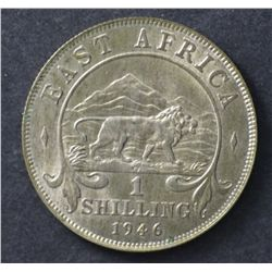 East Africa Shilling 1946 Uncirculated