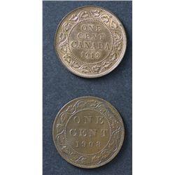 Canada 1c 1908