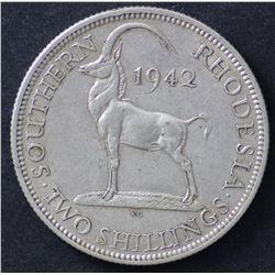 Southern Rhodesia Florin Lt
