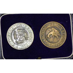 South Africa ZAR Mint Coronation medals 1953