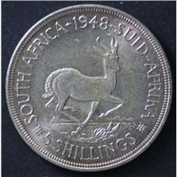South Africa crown 1948 Choice Unc