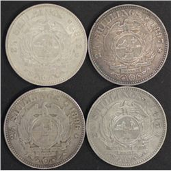 South Africa ZAR Halfcrowns 1895,1896,1897 VF