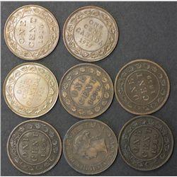 Canada 1 Cent lot