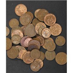 Australia 1c & 2c Pieces , lot not junk many better coins 10 kilos